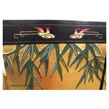 Asian 4 Panel Decorated Room Screen  Auction Estimate $100-$300 – Located Inside
