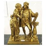 "19th Century Dore' Bronze Signed ""Debut"" Statue  Auction Estimate $2000-$4000 – Located Inside"