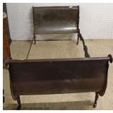 ANTIQUE Victorian Metal Day Bed  Auction Estimate $300-$600 – Located Inside