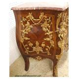 When Beauty comes knocking you have to…. buy it !!  BEAUTIFUL French Style Burl Mahogany Inlaid and