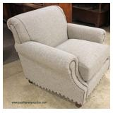 NEW Upholstered Loveseat with Matching Chair (to be offered separate)  Auction Estimate $200-$400 e