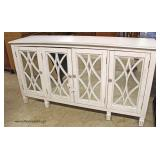 NEW Mirror Front 4 Door Credenza  Auction Estimate $200-$400 – Located Inside