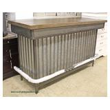 — Super Sleek Fashionable and Sought After —  BRAND NEW – UN-USED  Renegate Bar Cabinet  in the Ind