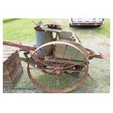 ANTIQUE Potato Planter in Original Found Condition  Auction Estimate $100-$300 – Located Field