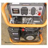 """Ridgid"" 6800 Running Watt 8500 Starting Watt Electric Start Powered by Yamaha Zero Gravity Generat"
