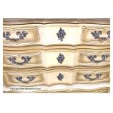 French Provincial High Chest and Low Chest Auction Estimate $100-$300 each – Located Dock
