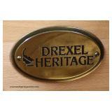 """Drexel Heritage Furniture"" Decorator 3 Drawer Cookie Corner Chest Auction Estimate $100-$300 – Loca"