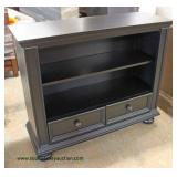 NEW Contemporary 2 Drawer Media Cabinet Auction Estimate $100-$200 – Located Inside