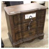 "NEW Contemporary ""Standard Furniture"" Country Style 3 Drawer Chest with Tags Auction Estimate $100-$"