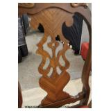 9 Piece Two Tone Walnut Carved Dining Room Set Auction Estimate $600-$1200 – Located Inside