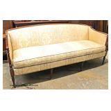 "Mahogany Frame ""American Masterpiece Collection"" Sheraton Style Upholstered Sofa  Auction Estimate"