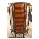 NICE Model Lingerie Double Curio French Style Chest  Auction Estimate $300-$600 – Located Inside
