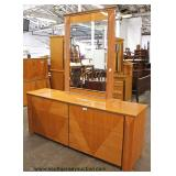 Ultra Modern Burl Maple Lacquer 4 Piece Queen Bedroom Set Made in Italy  Auction Estimate $400-$800