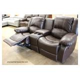 Selection of NEW Leather Sofas, some with Recliners and Cups Holders  Auction Estimate $300-$800 ea