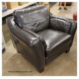 Leather Club Chair Auction Estimate $200-$400 – Located Inside