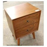 NEW Country Style 2 Drawer Night Stand Auction Estimate $50-$100 – Located Inside