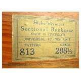 5 Stack Mahogany Barrister Style Bookcase with Matching Numbers Auction Estimate $300-$600 – Located