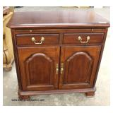 """SOLID """"American Drew Furniture"""" Cherry Banded Server   Auction Estimate $100-$300 – Located Inside"""