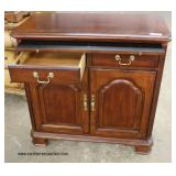 "SOLID ""American Drew Furniture"" Cherry Banded Server   Auction Estimate $100-$300 – Located Inside"