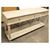 NEW Contemporary 3 Drawer Buffet   Auction Estimate $200-$400 – Located Inside