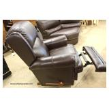 "NEW ""La Z Boy"" Leather Recliner   Auction Estimate $200-$400 – Located Inside"