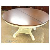 "NEW 3 Piece Country Style 60"" Breakfast Table with 2 Chairs   Auction Estimate $200-$400 – Located I"