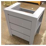 "NEW 30"" Modern Design Marble Top Bathroom Vanity with Sink   Auction Estimate $100-$300 – Located In"