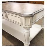 "NEW ""Liberty Furniture"" Contemporary Decorator Coffee Table   Auction Estimate $100-$300 – Located I"