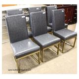 Set of 6 NEW Modern Design Metal Base Frame   Auction Estimate $100-$300 – Located Inside