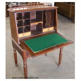 ANTIQUE Cherry Fall Front Desk   Auction Estimate $200-$400 – Located Inside