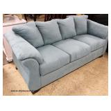 NEW 2 Piece Upholstered Sofa and Loveseat   Auction Estimate $300-$600 – Located Inside
