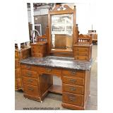ANTIQUE Marble Top Victorian Dresser   Auction Estimate $200-$400 – Located Inside