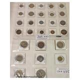 Selection of Foreign Coins   Auction Estimate $5-$15 – Located Inside