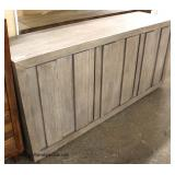 NEW Rustic Style 3 Door Credenza   Auction Estimate $200-$400 – Located Inside