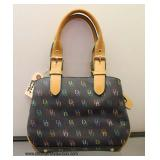"Authentic ""Dooney and Bourke"" Leather Purse   Auction Estimate $ 100-$300 – Located Inside"