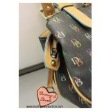 """Authentic """"Dooney and Bourke"""" Leather Purse   Auction Estimate $ 100-$300 – Located Inside"""
