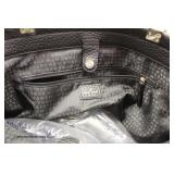 "Authentic ""Kate Spade"" Black Leather Purse   Auction Estimate $100-4300 – Located Inside"