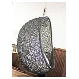 NEW COOL Hanging Egg Chair   Auction Estimate $100-$300 – Located Inside
