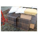 NEW 7 Piece All Weather Wicker Patio Furniture (you put together)  Auction Estimate $ 100-500- Loca