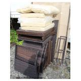NEW Wicker Patio Set (you put together – some pieces still in box)  Auction Estimate $100-$400 – Lo