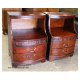 """PAIR of """"Kent Coffey Furniture"""" Mahogany 2 Drawer Night Stands  Auction Estimate $100-$300 – Locate"""