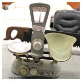 """VINTAGE """"Exact Weight Scale #98775"""" Scale  Auction Estimate $20-$100 – Located Inside"""