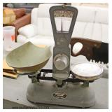 "VINTAGE ""Exact Weight Scale #98775"" Scale  Auction Estimate $20-$100 – Located Inside"