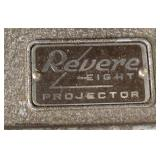 "VINTAGE ""Revere Eight"" Projector in Case  Auction Estimate $20-$100 – Located Inside"