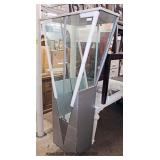 NEW Ultra Modern Display Cabinet  Auction Estimate $200-$400 – Located Inside