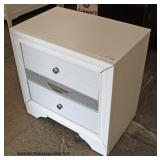 NEW Modern Design 2 Drawer Night Stand  Auction Estimate $100-$200 – Located Inside