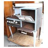 ANTIQUE Porcelain Stove  Auction Estimate $100-$300 – Located Dock