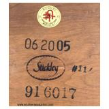 """LIKE NEW SOLID Cherry """"Stickley Furniture"""" 6 Piece Mission Style Breakfast Set  Auction Estimate $1"""