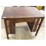 "ANTIQUE ""Stickley Furniture"" Mission Oak Library Desk  Auction Estimate $300-$600 – Located Inside"