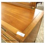 """Solid Cherry VINTAGE High Chest and Low Chest with Mirror by """"White Fine Furniture""""  Located Inside"""